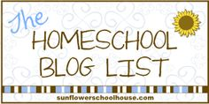 Lots and lots of #homeschool blogs
