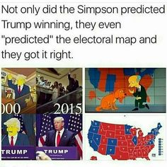 The Simpson's cartoon knows everything in advance. Are they psychic, or is it being engineered?