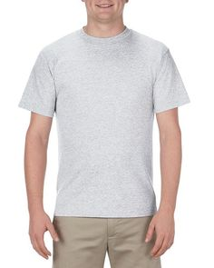 Ash - 1301 Alstyle Classic Adult Tee | T-shirt.ca