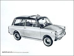 1964 Autobianchi Bianchina Panoramica