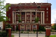 """South Side Masonic Temple"" - Landemerke i South Green Street i Englewood"