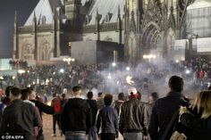 Large groups of Muslim men who congregated around the cathedral in Cologne on New Year's Eve are believed to be responsible for more than 520 sexual assaults and at least three rapes on women in the city
