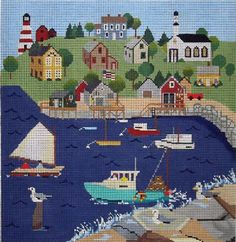 Julie Paukert Design, from The Wellesley Needlepoint Collection