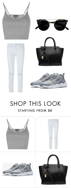 Sweetsage by dorina-meszaros on Polyvore featuring Topshop, Rebecca Minkoff and NIKE