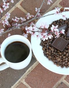 We are all busy. Take an Afternoon Break with Coffee and Chocolate