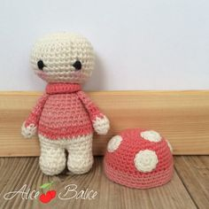 Tiny Lalylala | amigurumi crochet | tuto crochet gratuit Crochet Amigurumi, Knit Or Crochet, Crochet Hats, Panda, Hello Kitty, Lily, Teddy Bear, Knitting, Toys