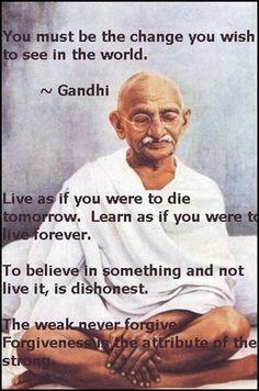 GANDHI SAYINGS