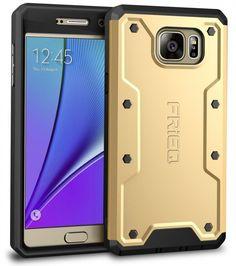 Galaxy Note 5 Case, FRiEQ Full-body Heavy Duty Rugged Galaxy Note 5 Case Scratch #FRiEQ