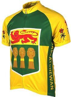 Adrenaline Promotions Canadian Provinces Saskatchewan Cycling Jersey