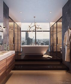 Penthouses are synonymous with luxury. But just because your your penthouse dream home may be a bit out of reach, doesn't mean you can't incorporate some o
