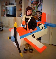 Handmade Disney Dusty Plane Halloween Costume for my son