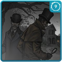 Introducción a Sherlock Holmes - La Banda Lunares ($0.99). Disponible en el Windows Phone Marketplace Windows Phone, Sherlock Holmes, Mystery, Apps, Fictional Characters, Polka Dots, Bands, Budget, App