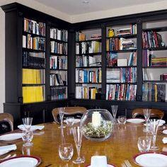 black book shelves