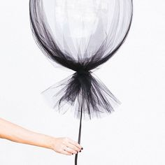 Get your orders in for our super popular tulle wrapped bubble balloon for halloween!  We are running out tulle so be quick  PC @hipster_mum  for @billieandkate