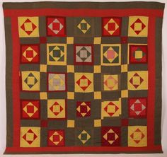 19TH CENTURY AMERICAN HAND STITCHED QUILT