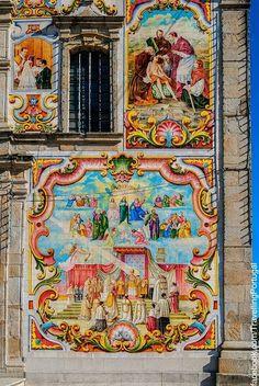 La iglesia parroquial de Válega, dedicada a la Virgen María, comenzó a construirse en 1746 prolongándose las obras algo más de un siglo. Portugal