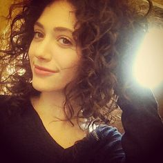 She's got lovely natural curls