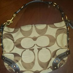 Coach Carly Purse Used in almost great condition Coach Bags