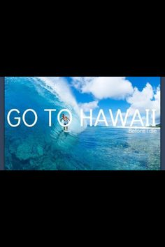 Totally want to go to Hawaii for my honeymoon. Dream big, right? :P