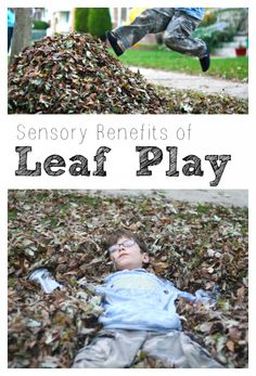 Sensory Benefits of Leaf Play Ideas