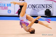 Marina Durunda (Azerbaijan), backstage World Championships 2015