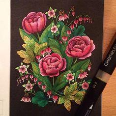 Instagram media liljaskonstoram - En bild ur Blomstermandala av @maria_trolle…