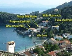 Welcome to the White House in Kalami. The Corfu home of the Durrell family.