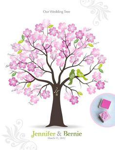 L'arbre avec tampons encreursCertaines optent pour les empreintes, d'autres…