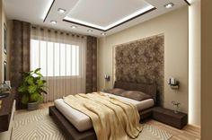 faux plafond suspendu, plafond blanc avec éclairage encastré