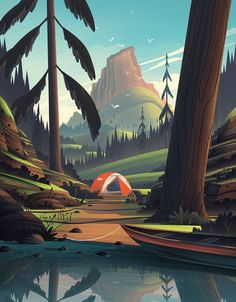"Consulta este proyecto @Behance: ""REI 4th of July""…"