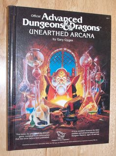 Advanced Dungeons & Dragons // Unearthed Arcana // Gary Gygax (1985)