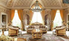 Sofa Mewah Luxury Home Furniture, Italian Furniture, Sofa Set Designs, Sofa Design, Leather Furniture, Cool Furniture, Sofa Set Price, Sofa Bed Sale, Sofa Set Online