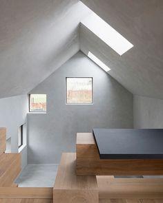 "nexttoparchitects: ""snapchat /add/ nextarch Stable conversion, Belgium Studio Farris Architects Photo Koen van Damme #architecture #instarchitecture #simplicity #simple #cleanlines #barnconversion..."