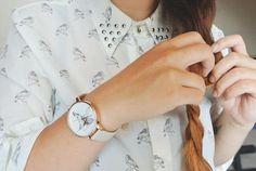 Les montres femme Olivia Burton apportent leur touche d'originalité en proposant des cadrans à fleurs et avec des oiseaux. Livraison Belgique et France. Hummingbird, Mink, Watches, Blog, Victoria, France, Jewellery, Animal, Olivia Burton Watches