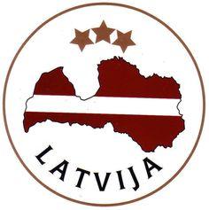 Latvija Sticker