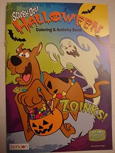 Have some Halloween fun with Scooby-Doo and the gang with this coloring and activity book. Scooby Doo Halloween, Halloween Toys, Color Activities, Halloween Coloring, Christmas Toys, Shopkins, Cool Toys, Autumn, Book