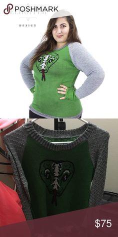 744bd49b1 Elhoffer design retired snake sweater Size M, one of the retired snake  sweater styles.