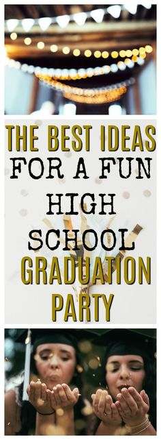 A fun graduation party is a big deal for your teen. Make sure your high school graduate has a memorable graduation party with these simple, easy, and fun graduation party ideas. You can use this as your checklist so you don't forget a thing! #graduation #