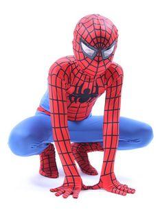 Kids Spiderman Suit. Spiderman Costume  sc 1 st  Pinterest & Spiderman Adult Plus 50-52 | Spiderman and Products