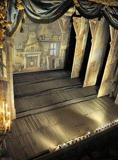 Stage of the Petit Théâtre de la Reine