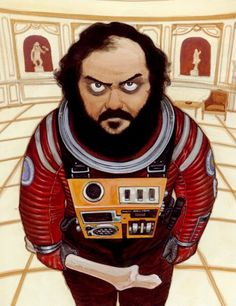 Katsuhiro Otomo  Portrait of Stanley Kubrick