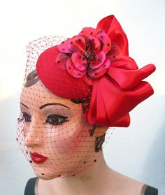 fascinator (not exactly like this, but you get the idea)