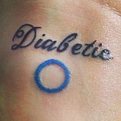 14 Inspiring Diabetes Tattoos they are a little young for tattoos but hey