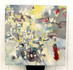 Expressionist Abstract Painting Acrylic by kerriblackmanfineart, $475.00