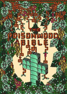 Poison Wood Bible Cover by Hey CJ Parker , via Behance