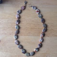 Jasper Necklace. Jasper Jewellery. Handcrafted