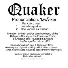 A short Quaker definition