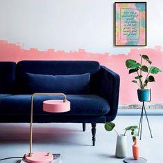 Alles wat je aandacht geeft groeit, leg de focus op wat je echt wilt en wat goed voor je voelt.  A3 poster van Koolmade Love Seat, Couch, Poster, Furniture, Home Decor, Everything, Settee, Decoration Home, Sofa
