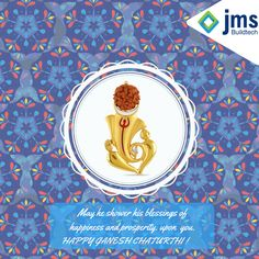 May Lord Ganesha shower abundant good luck on you and may He always bestow you with His blessings! Happy Ganesh Chaturthi!