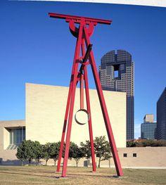 Mark di Suvero's Proverb - Arts District Dallas